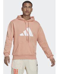 adidas Sportswear Future Icons Logo Graphic Hoodie - Roze