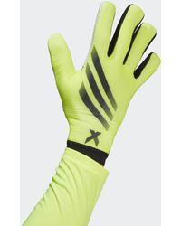 adidas X Training Torwarthandschuhe - Gelb