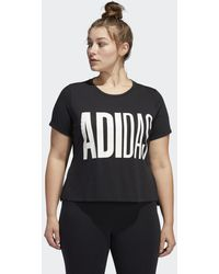 adidas T-Shirt - Schwarz