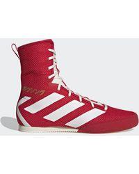 adidas Chaussure Box Hog 3 - Rouge