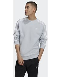 adidas Adicolor Classics 3-stripes Crew Sweatshirt - Blue