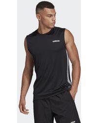 adidas Design 2 Move 3-stripes T-shirt - Zwart