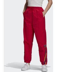 adidas Track pants adicolor - Rosso