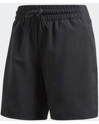 adidas Knee-Length Shorts - Schwarz