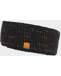 adidas Fleece-Lined AEROREADY Knit Stirnband - Schwarz