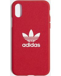 adidas Moulded Case Iphone X 5.8-inch - Red