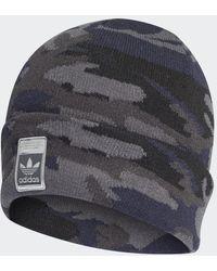 adidas Camo Knit-cuff Beanie - Grijs