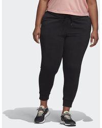 adidas Essentials Hose – Große Größen - Schwarz
