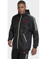 adidas Manchester United Windjack - Zwart