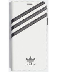 adidas Samba Booklet Case Iphone 2019 6.1-inch - Wit