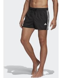 adidas 3-stripes Clx Zwemshort - Zwart