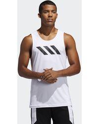 adidas Canotta Sport 3-Stripes - Bianco