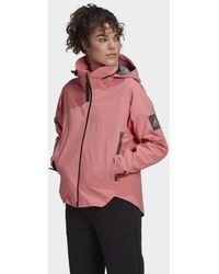 adidas Myshelter Regenjack - Roze