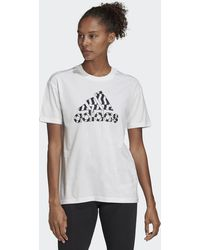 adidas Must Haves Graphic T-shirt - Wit