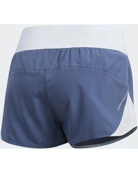 adidas Pantalón corto Run It - Azul