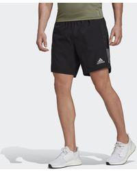 adidas Own The Run Short - Zwart