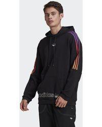 adidas - Hoodie SPRT 3-Stripes - Lyst