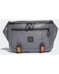 adidas Large Waist Bag - Gray