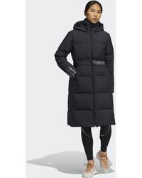 adidas Belted Down Coat - Black