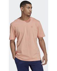 adidas Adicolor Classics Mm Trefoil T-shirt - Roze