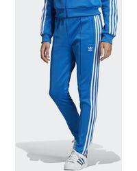 Sst Track Pants Blue