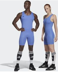 adidas Powerlift Suit - Blue