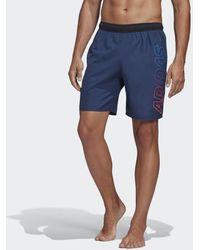 adidas Lineage Clx Short - Blauw