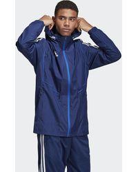 adidas Tiro 19 All-weather Jack - Blauw