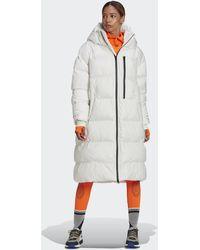 adidas By Stella Mccartney Long Puffer Jacket - White