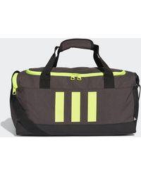 adidas Essentials 3-Streifen Duffelbag S - Schwarz