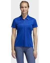 adidas 3-stripes Shoulder Sport Shirt - Blauw