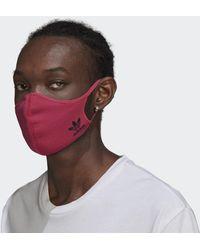 adidas Face Cover Medium/Large - Non per uso medico - Rosa
