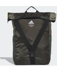 adidas Classic Flap Top Shopper Rugzak - Groen