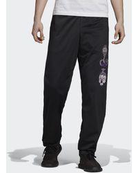 adidas Track pants Tanaami Firebird - Nero
