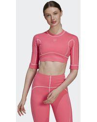 adidas By Stella Mccartney Truestrength Yoga Croptop - Roze