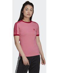 adidas T-shirt Adicolor Classics Collegiate Tight - Rose