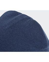 adidas Adicolor Cuff Mütze - Blau