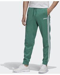 adidas Essentials 3-stripes Tapered Cuffed Broek - Groen