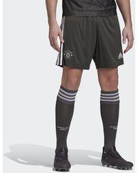 adidas Manchester United Uitshort - Zwart