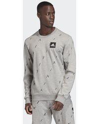 adidas Must Haves Graphic Sweatshirt - Grau