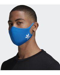 adidas Masque M/L (3 articles) - Bleu