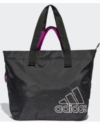 adidas Tote bag Canvas Sports - Noir