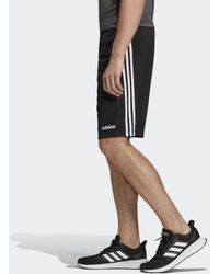 adidas Design 2 Move Climacool 3-Streifen Shorts - Schwarz