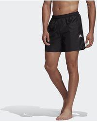 adidas Solid Zwemshort - Zwart