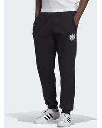adidas - Loungewear Adicolor 3d Trefoil Graphic Joggingbroek - Lyst