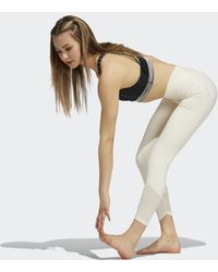 adidas Yoga Power Mesh 7/8 Legging - Wit