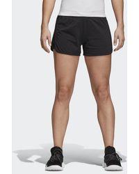 c962d27c86 adidas Essentials Raw-edged Sweat Shorts in Black for Men - Lyst