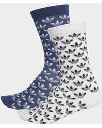 adidas Trefoil Sokken 2 Paar - Blauw