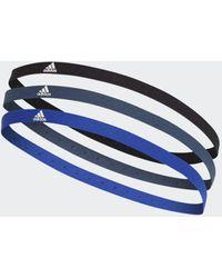 adidas Hairband 3 Pack - Black