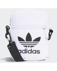 adidas Trefoil Festival Tasche - Weiß